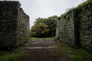 岡城・近戸門跡