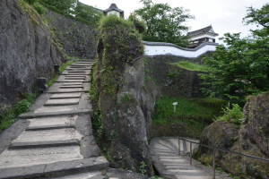 臼杵城・鐙坂