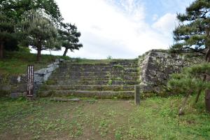 臼杵城・亭櫓跡