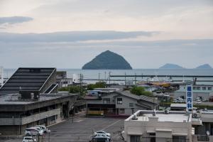 臼杵城・本丸からの眺め