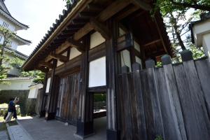 行田市郷土博物館・東門
