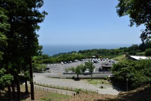 石垣山城・南曲輪からの眺め