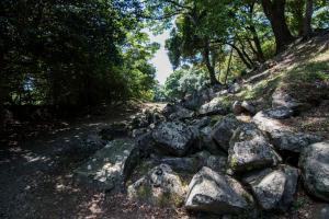 石垣山城・西曲輪の門跡