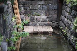 旧芝離宮恩賜公園・海水取入口跡