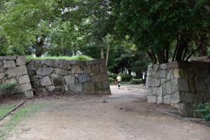明石城・東の丸の虎口