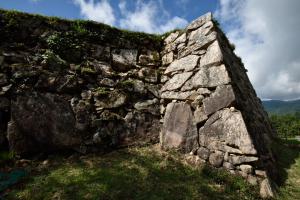 竹田城・三ノ丸の石垣