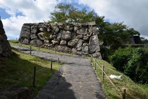 竹田城・二ノ丸の虎口