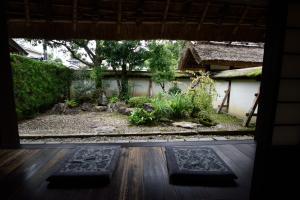 安間家資料館・庭