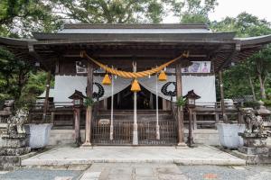 春日神社・拝殿