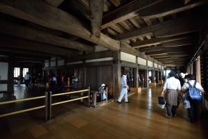 姫路城・天守内部・1階