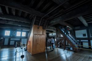 姫路城・天守内部・4階