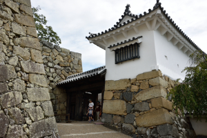 姫路城・りノ門