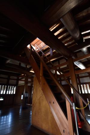 広島城・太鼓櫓内部