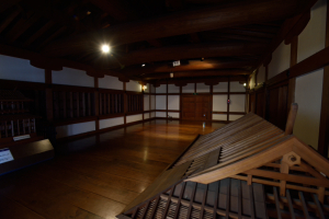 広島城・表御門内部