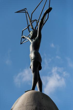 平和記念公園・原爆の子の像