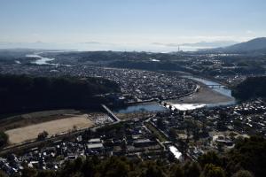 岩国城・天守からの眺め