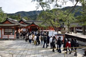 厳島神社・参拝入り口
