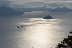 弥山・獅子岩展望台・小黒神島