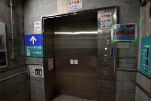 宮ケ瀬ダム・エレベータ