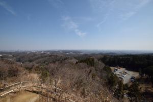 本沢ダム・牡龍籠山からの眺め