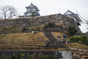 浜松城・本丸石垣