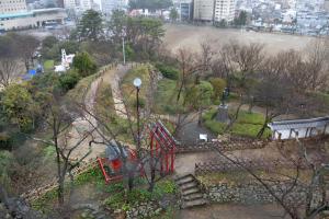 浜松城・天守からの眺め