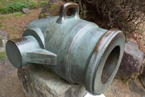 韮山反射炉・青銅製29cm臼砲