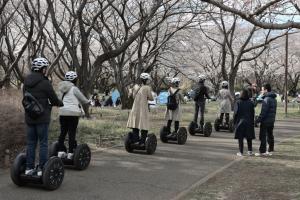 昭和記念公園・セグウェイ