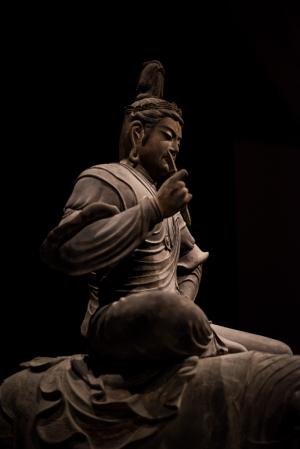 東京国立博物館・帝釈天騎象像
