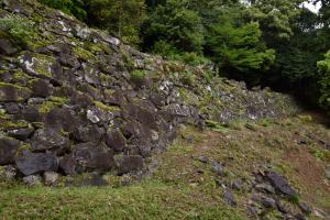 角牟礼城・二ノ丸の石垣