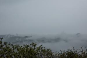 角牟礼城・本丸からの眺め