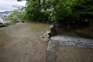 唐津城・総締門付近