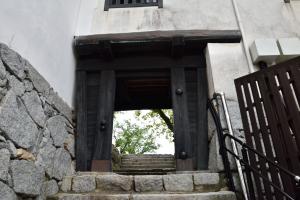 唐津城・西門
