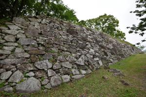 名護屋城・三ノ丸の石垣