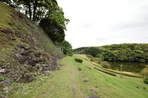 名護屋城・三ノ丸付近の石垣