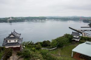 平戸城・天守からの眺め