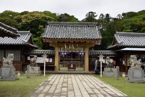 亀岡神社・拝殿