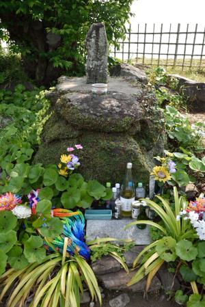 原城・天草四郎時貞の墓碑