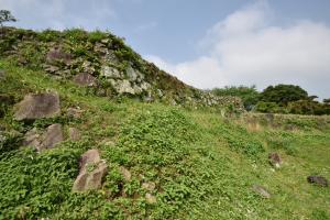 原城・本丸の石垣