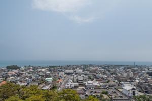 島原城・天守からの眺め