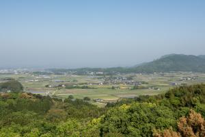鞠智城・灰塚からの眺め
