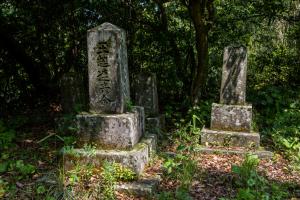 志布志城・新納時久の墓