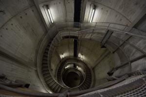白丸ダム・螺旋階段