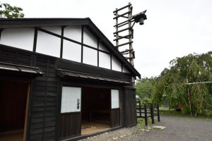 松前藩屋敷・自身番小屋