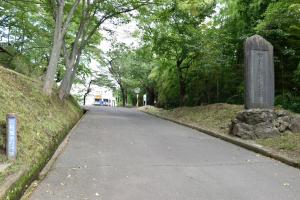 白石城・東口門跡
