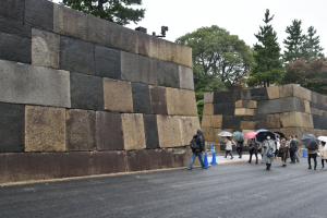 大嘗宮・大番所付近の虎口
