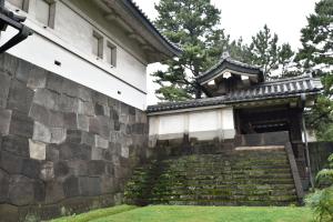 江戸城・帯曲輪門