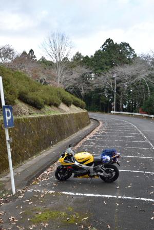 笠間城・駐車場