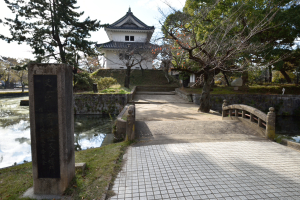 土浦城・霞門の外側