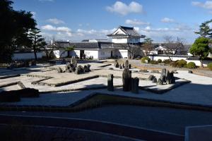 岸和田城・八陣の庭